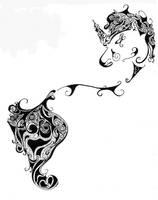 Unicorn by ravekitten