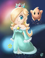 Rosalina - Protector of Luma by Zaziki7