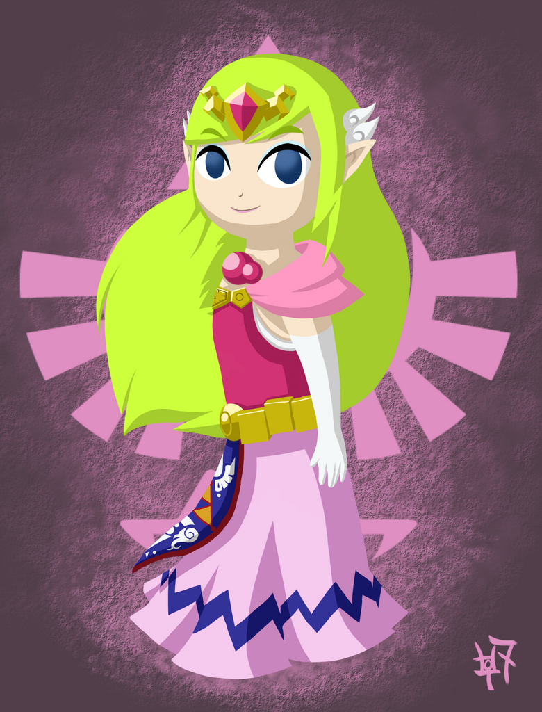 The Princess of Hyrule by Zaziki7