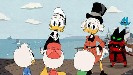 MaoMao Meets DuckTales