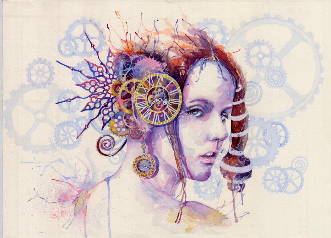 Lady Time by kimerajam
