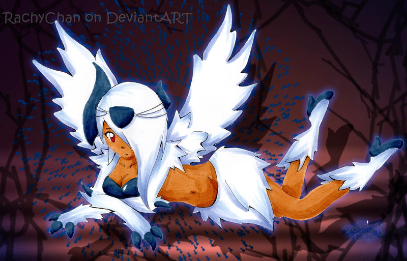 Mega Absol Gijinka by RachyChan on DeviantArt