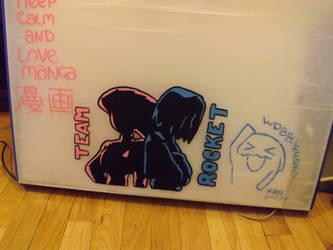 Team Rocket school folder by Ra-ChelB