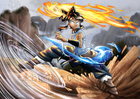 The Legend of Korra by Ra-ChelB