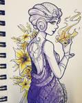 [Inktober] Day 5 - Socialite Witch