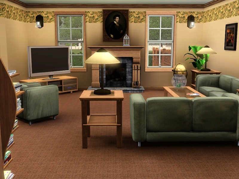 Time sims 2 living room ideas scale really easy