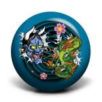 Asian Tattoo Bowling Ball