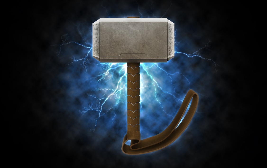 thor s hammer by bang a rang on deviantart