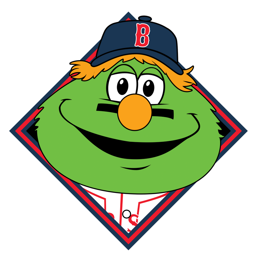 boston red sox wally by bang a rang on deviantart rh bang a rang deviantart com red sox jersey clip art boston red sox clip art