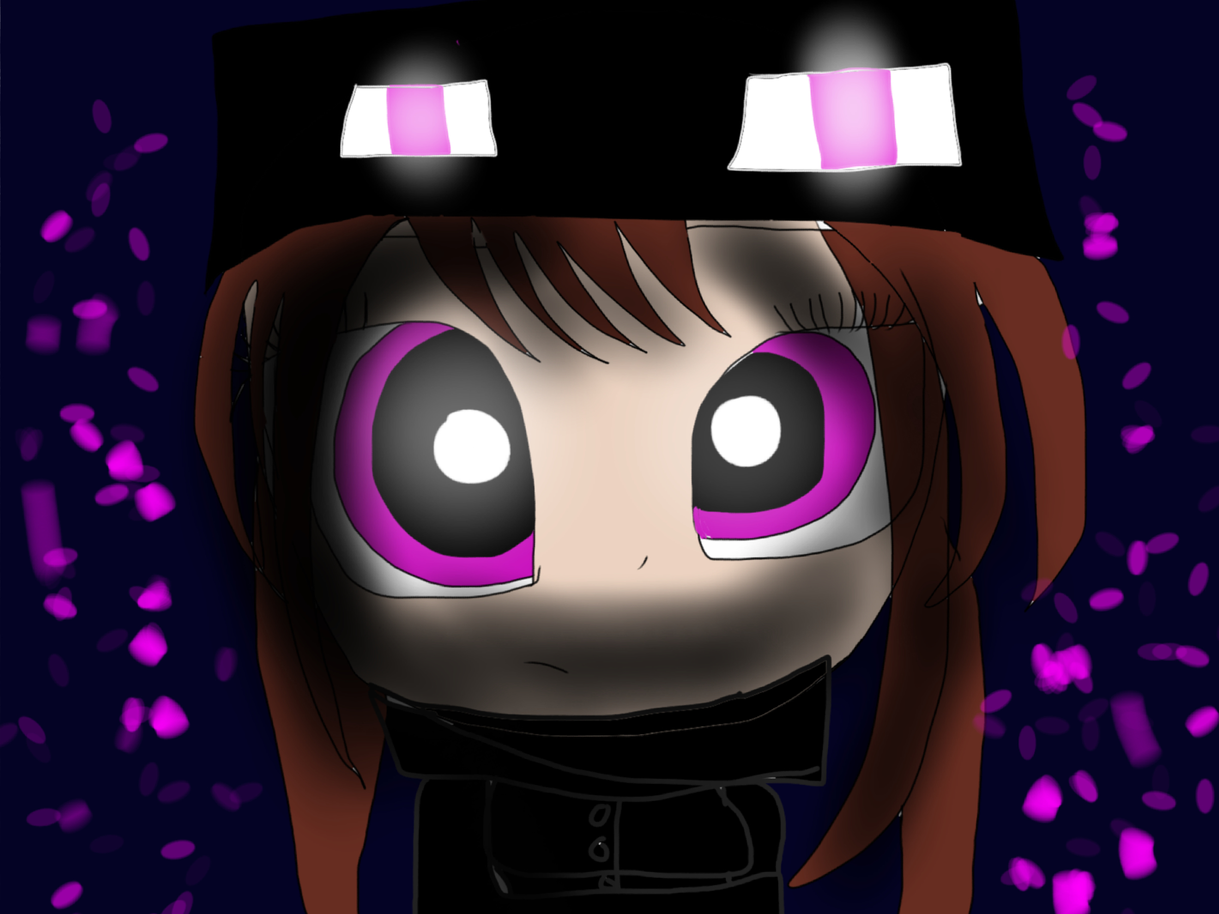 Beautiful Wallpaper Minecraft Girl - endergirl_minecraft_by_destinyanddolls-d83resv  Perfect Image Reference_589319.jpg