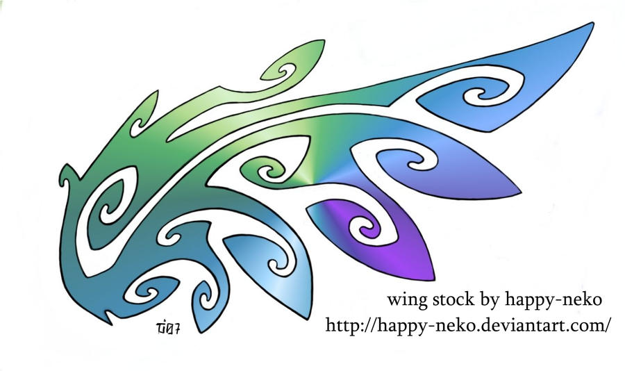 Wing stock by happy-neko