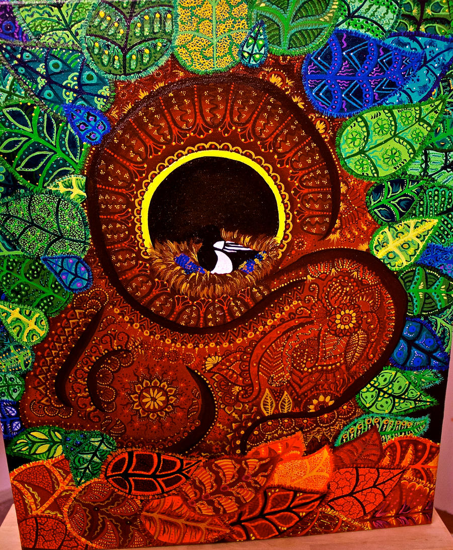 Birds nest by FranciscaMeena