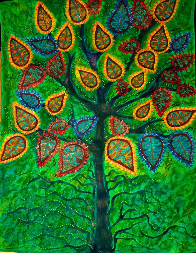 Color tree by FranciscaMeena