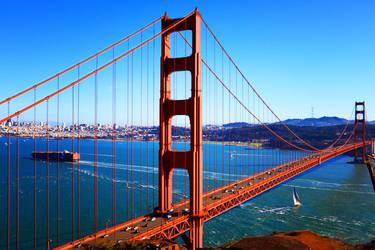 Golden Gate Bridge by zoz1995