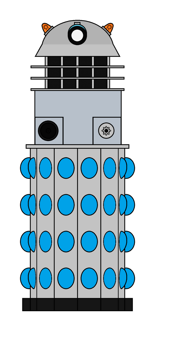 60's Dalek 1 (WIP) by WALLE1Doctor1Who