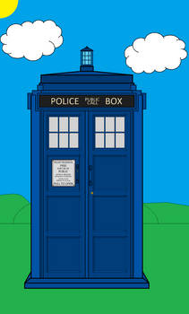 TARDIS and Background (Revamped)