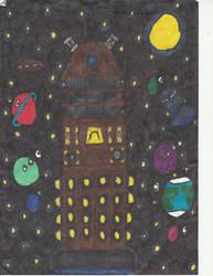 Dalek in space