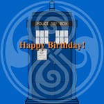 Happy Birthday 2 (Profile Picture) by WALLE1Doctor1Who