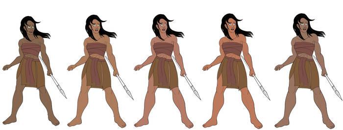 One Million Years BC Remake - Loana Skins