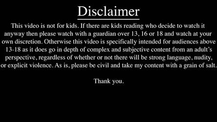 New YouTube Disclaimer Card Concept