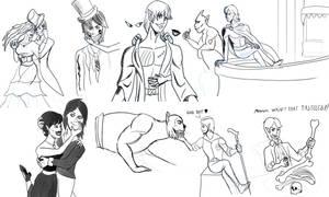 Horror-Day Doodles