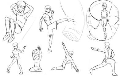 Julius Martin - Training Sketchdump