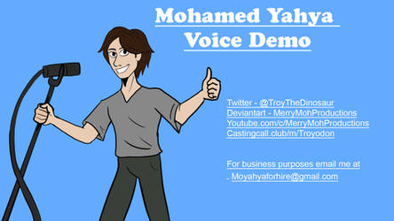 Voice Demo Title Card