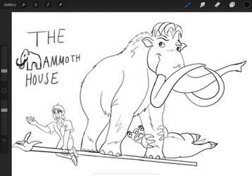 Ice Age AU: The Mammoth House!