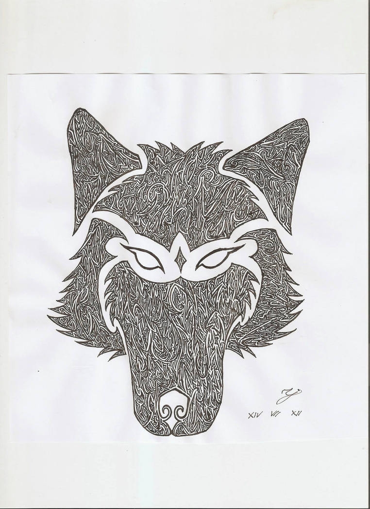Wolf head by Karstein34