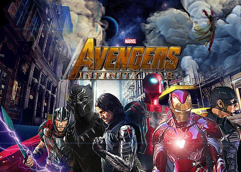 Avengers Infinity War by Outlawsarankan