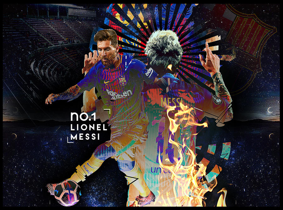Lionel Messi by Outlawsarankan