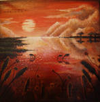 sunset by Cestica