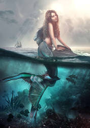 Mermaid by Cestica