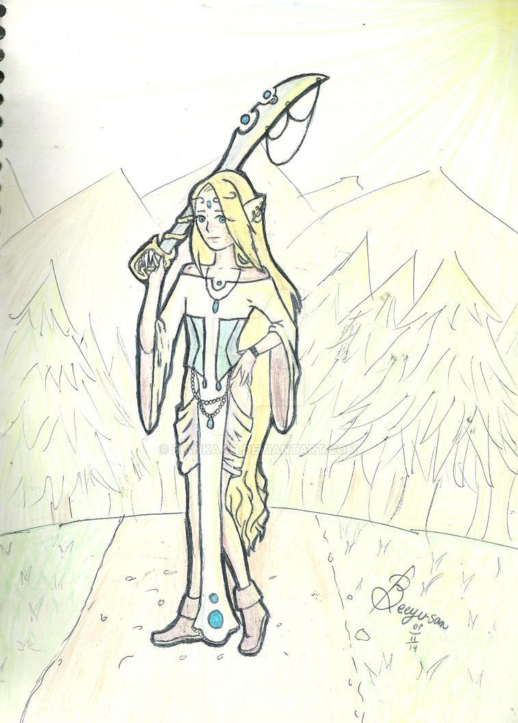 Super gay elf. by Biankaah