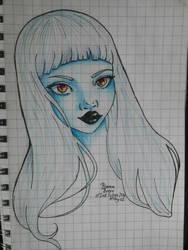 Garota Azul