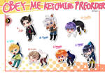 Obey Me Keychains Preorder!