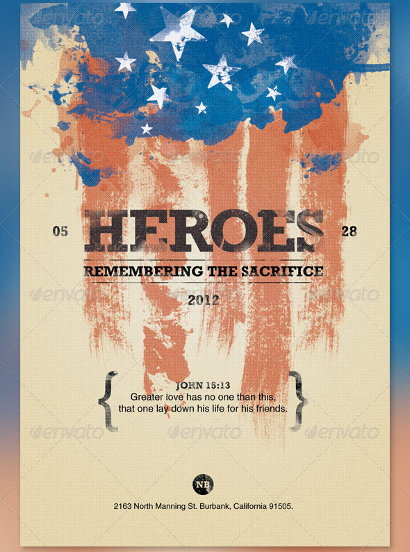 Heroes Memorial Day Flyer And Cd Template By Loswl On Deviantart
