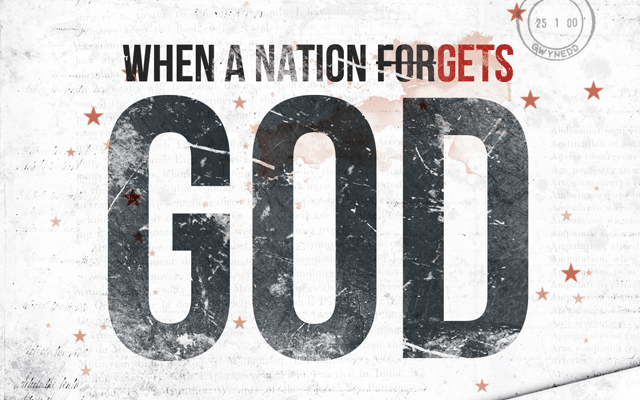 When A Nation Forgets God Church Flyer Template by loswl on DeviantArt
