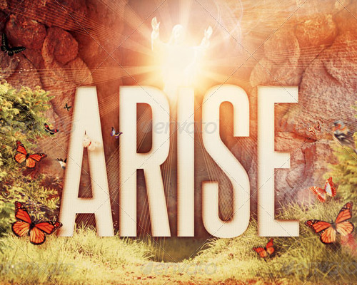 Arise CD Artwork Template by loswl