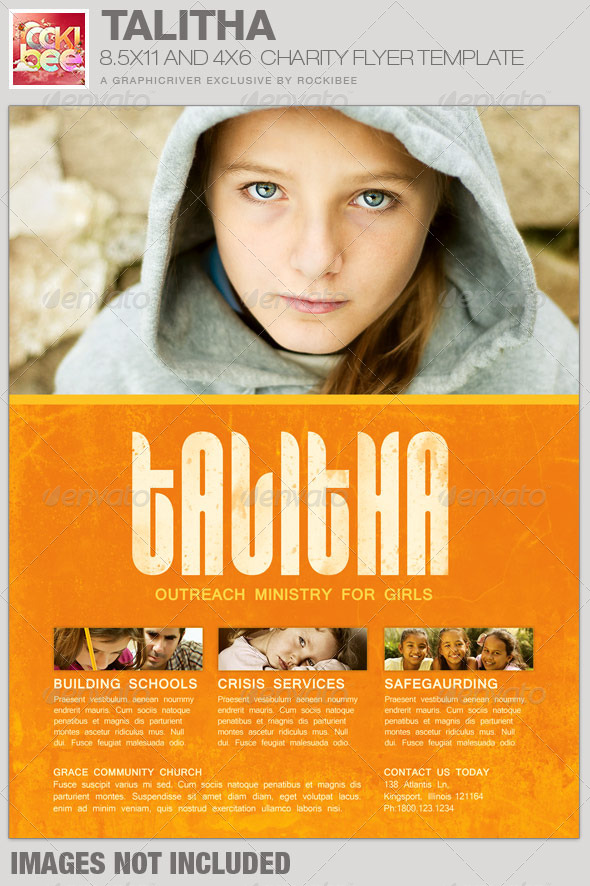 Talitha Charity Event Flyer Template By Loswl On Deviantart