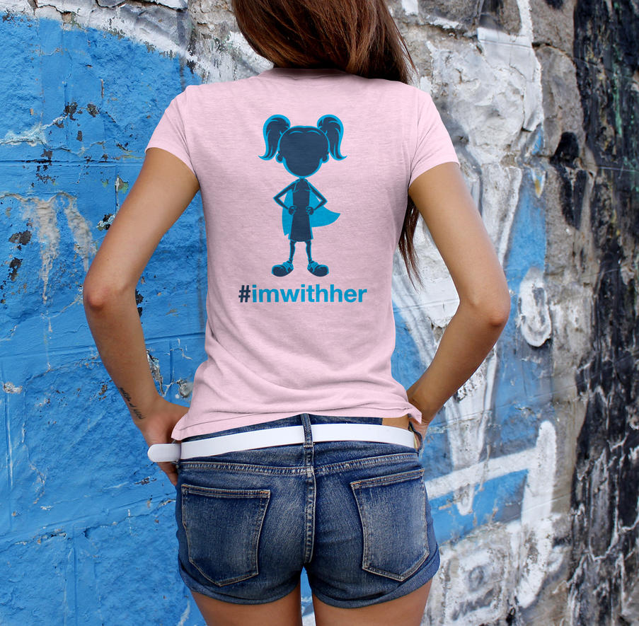 Well Behaved Women T-Shirt Back by loswl