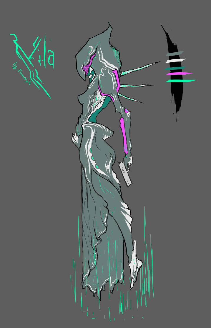 Warframe zephyr fan art