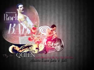 Queen Wallpaper Rock n Roll MT