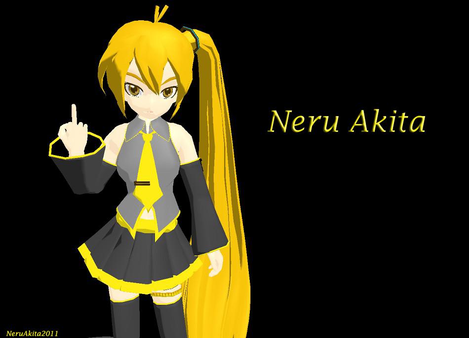 mmd dl neru akita - photo #34