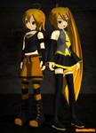 MMD Neru Akita and Nero Akita