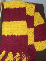 Gryffindor scarf 1 by tobifangirl52