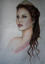 Angelina Jolie by DaniloIndigoCerovic