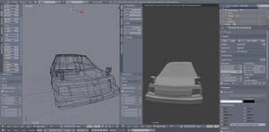 Kei car blender modeling by CaffeineFox