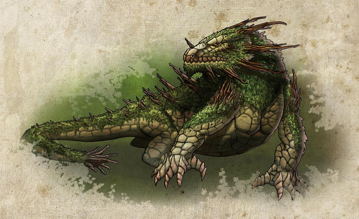Earth Dragon: Earth Dragon By Athayar On DeviantArt