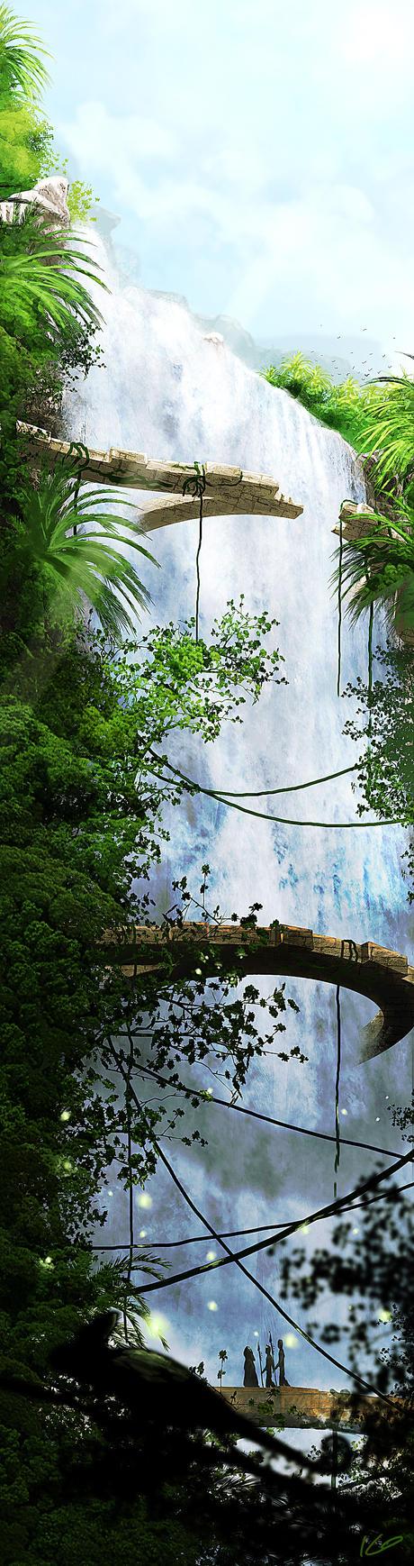 Waterfall by Athayar